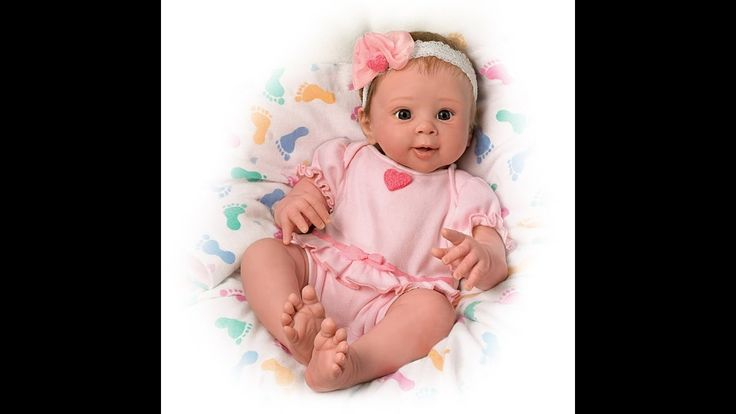 Sherry Rawn ''Ella'' Touch Activated Lifelike Baby Girl Doll