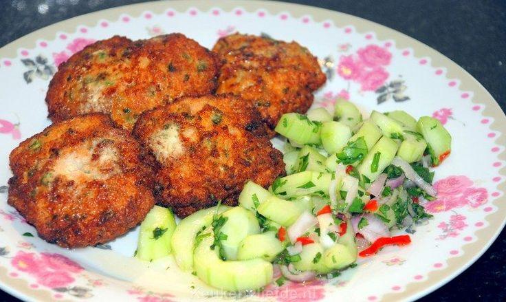 Thaise viskoekjes met komkommersalade - Keuken♥Liefde