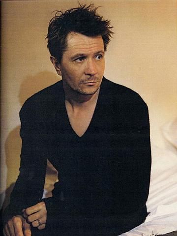 Gary Oldman....not hot in the traditional sense, but he's a damn fine actor and was pretty yummy in Dracula.