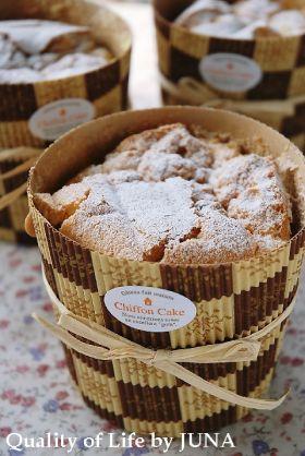 「ピクニックにカップシフォン♪」JUNA | お菓子・パンのレシピや作り方【corecle*コレクル】