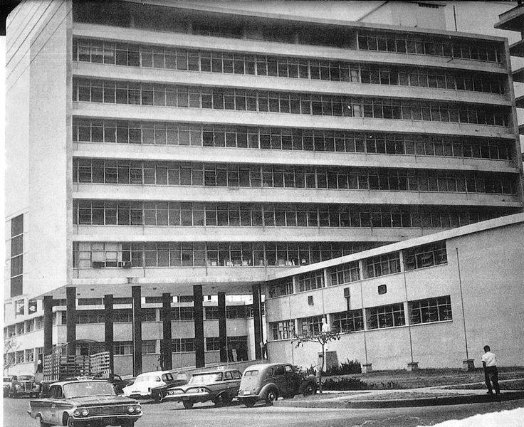 Vieja Alcaldía de Barranquilla fotografia capturada en 1960
