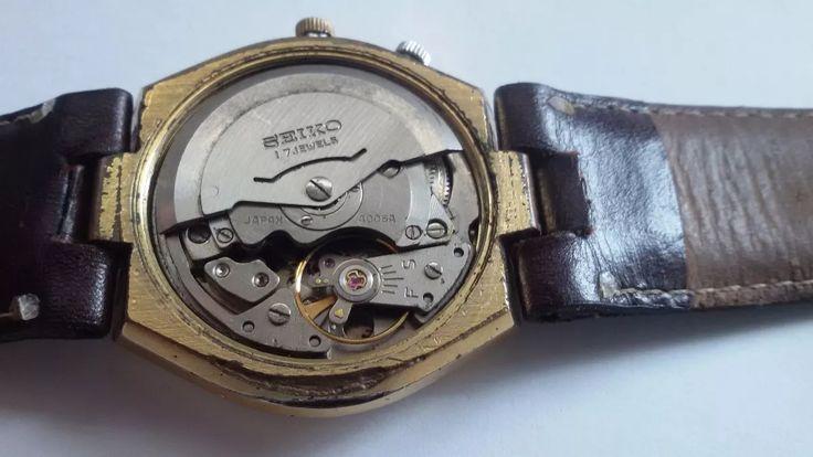 Vintage Seiko 4006-6040 Bell-matic 17 Joias Automático - R$ 160,00 em Mercado Livre