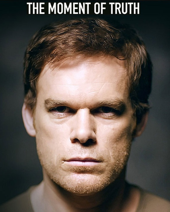 Stare At A New Dexter Season 7 Poster