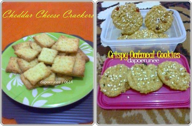 dapoerunee : Crispy Cookies For Diabetics