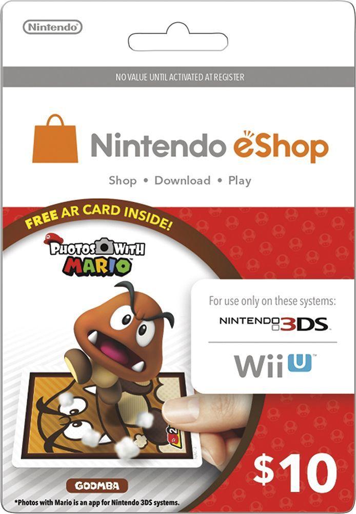 The Nintendo Eshop Gift Card Code Generator allows you to