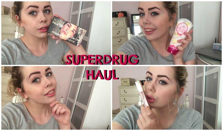 SUPERDRUG HAUL | Charli Crescendo