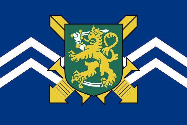 Finland Army | Finnish Army Flag (PM).png