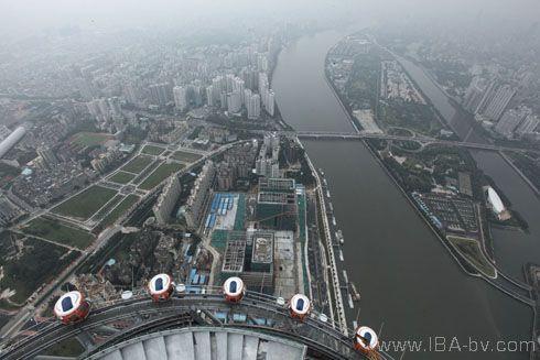 Guangzhou Tower ..world's highest ferris wheel
