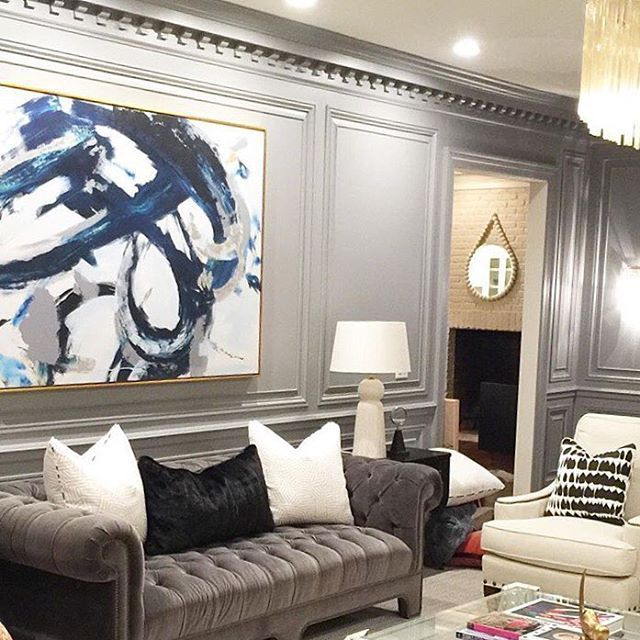 Beautiful Space By Mrsparanjape With Our Black Flow Piece Repost Tbt
