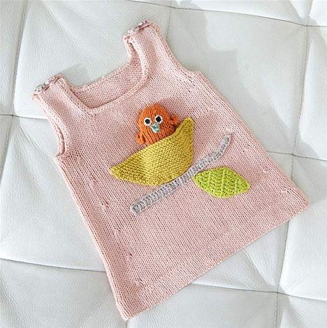 Sticka sötaste tunikan med eget mjukisdjur till babyn!