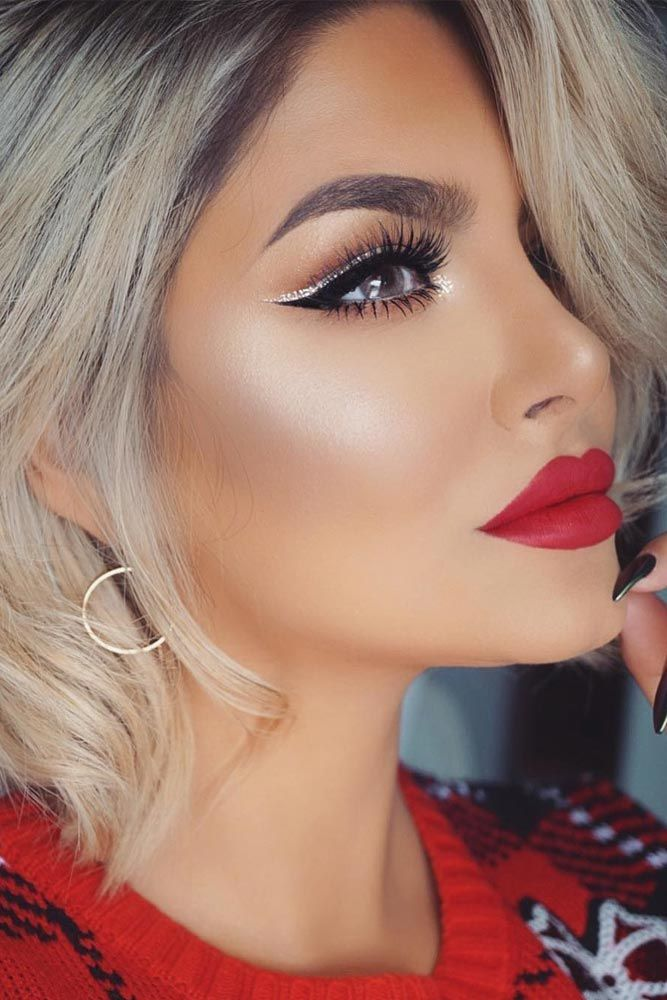 Flattering Lipstick Colors For All Skin Tones: 17 Best Ideas About Red Lipstick Looks On Pinterest