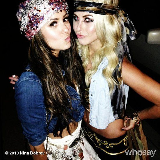 julianne hough Photos: Julianne Hough headed to a wedding with her handsome Scottish date. Source: Instagram user juleshough: Nina Dobrev and Julianne Hough dressed up in gypsy-inspired outfits for a Selena Gomez concert. Source: Nina Dobrev on WhoSay
