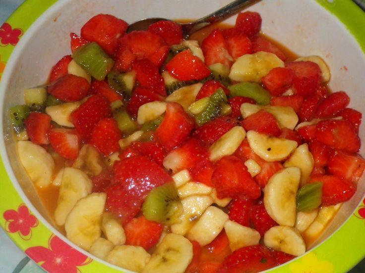 Salade de fruits jolie jolie...