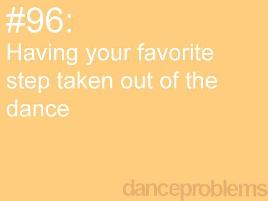 #danceproblems More Oh, crap moments. :(