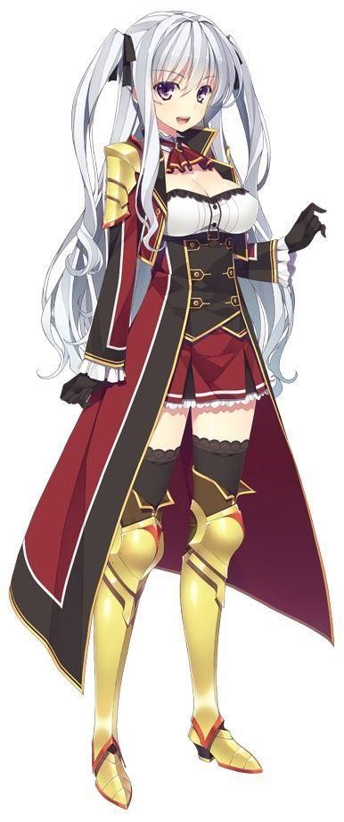Armor Anime girl