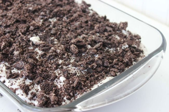 Oreo Poke Cake - Raining Hot Coupons