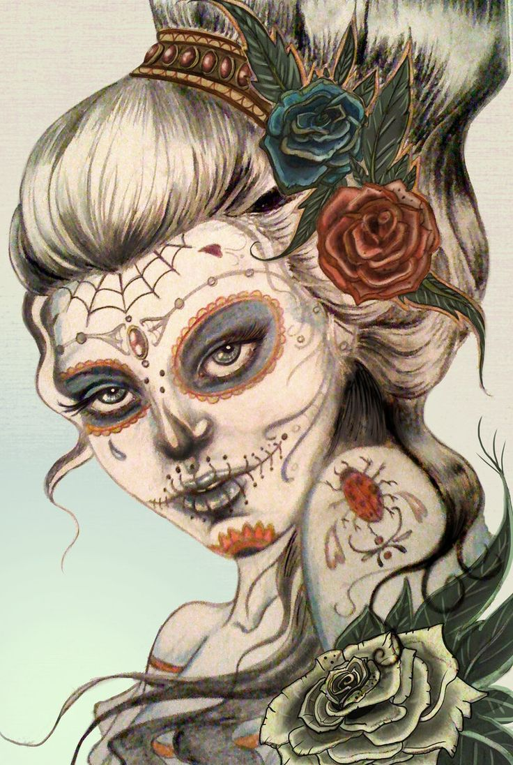 108 day of dead art