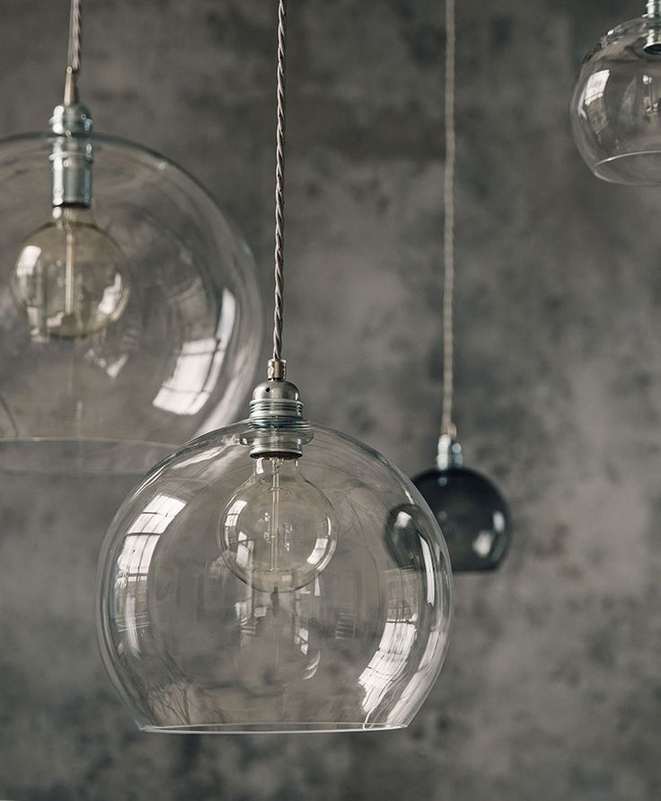 Flo Glass Ceiling Lights | Olive and the Fox