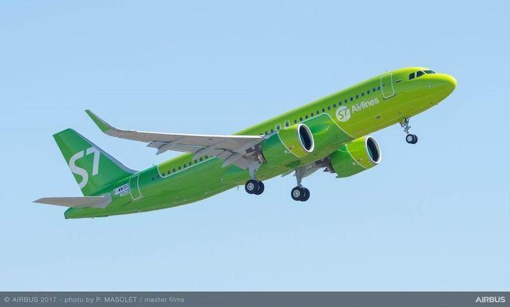 S7 Airlines (Russie) : une nouvelle livrée conçue par Landor.