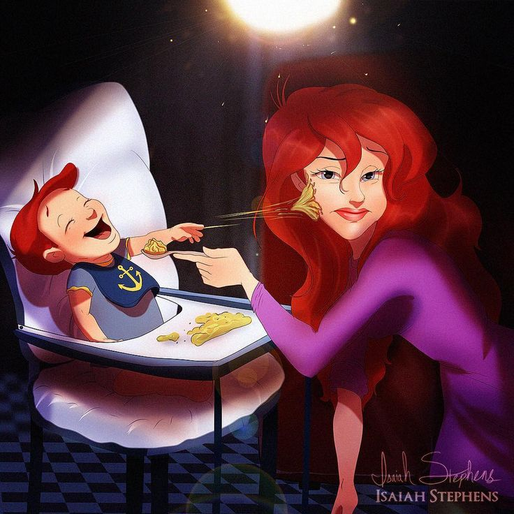 10 Illustrations That Show What Your Favorite Disney Couples Would Look Like As Parents