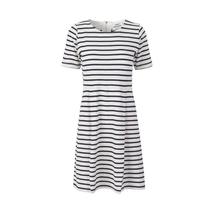 Mads Norgaard Copenhagen - Striped Picasso Deily Cotton Dress: http://www.shoppingsmall.nl/mads-norgaard-copenhagen-striped-picasso-deily-cotton-dress.html