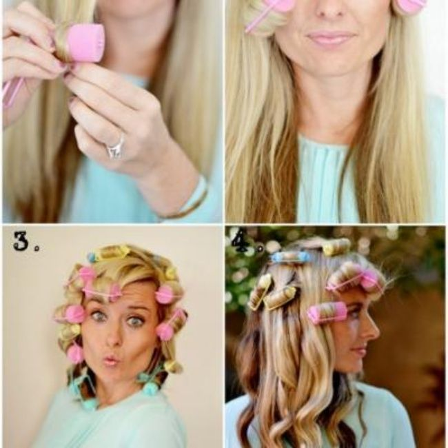 how to get spiral curls without heat or rollers