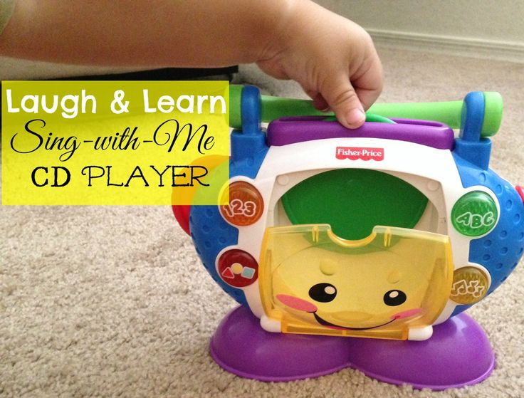 Fisher Price Sing with Me Baby CD Player Toy