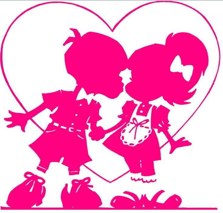 jongen en meisje roze
