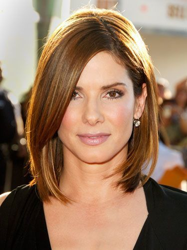 sandra bullock side part | ... like most of these but Sandra bullock's hair is so classy. I love it