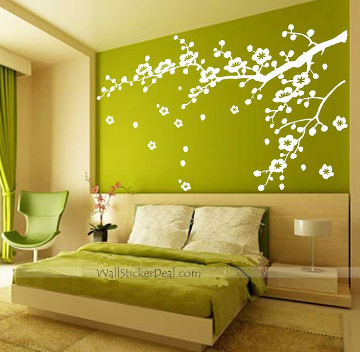 Cherry Blossom Branches Wall Stickers