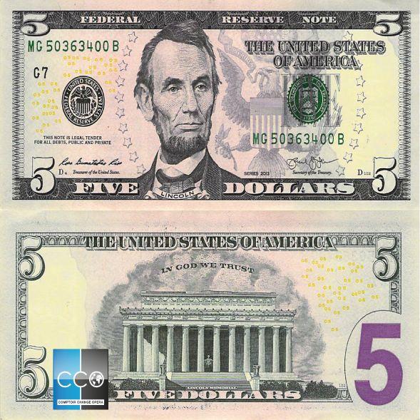 Portrait de : Président Abraham Lincoln