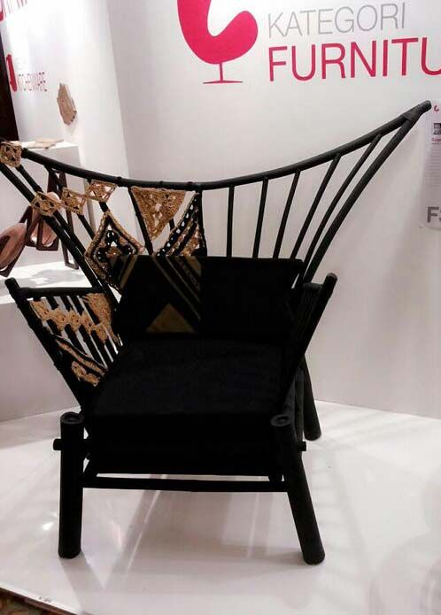 'gadang chair' bravacasa design challenge 2013, furniture category award