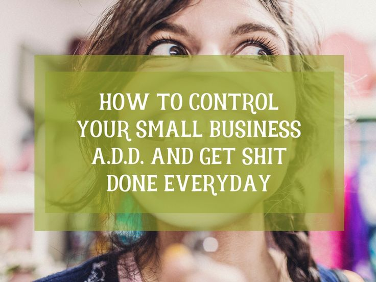 Keeping Focused In Small Business:The Focus Fairy Screwed Me