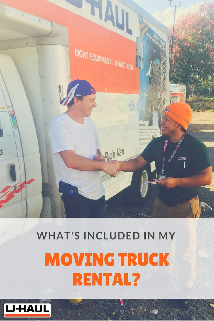 Planning is key when you're about to move! It's best to think of every possible variable so there are no surprises. Because every truck rental company is slightly different, here is what comes with your moving truck rental based on your type of move.