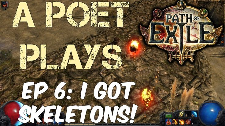 A Poet Plays - Path of Exile - Ep 6 (Prophecy League)
