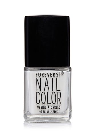 Ivory nail polish perfect for bridesmaids to wear