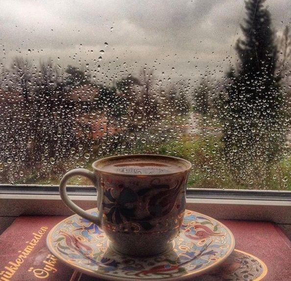 Café y lluvia...