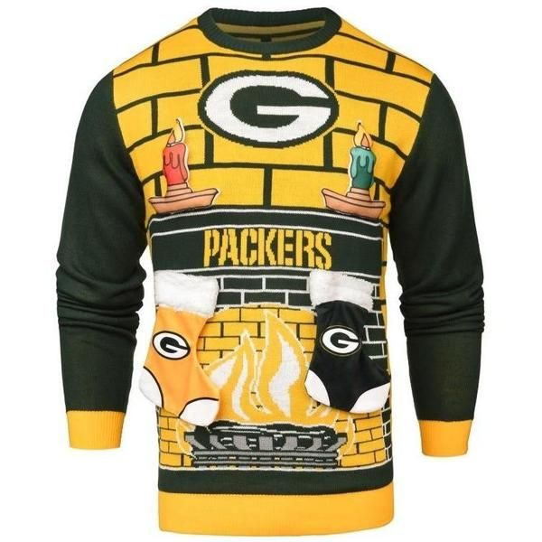 Forever Collectibles NFL Ugly 3D Holiday Sweater