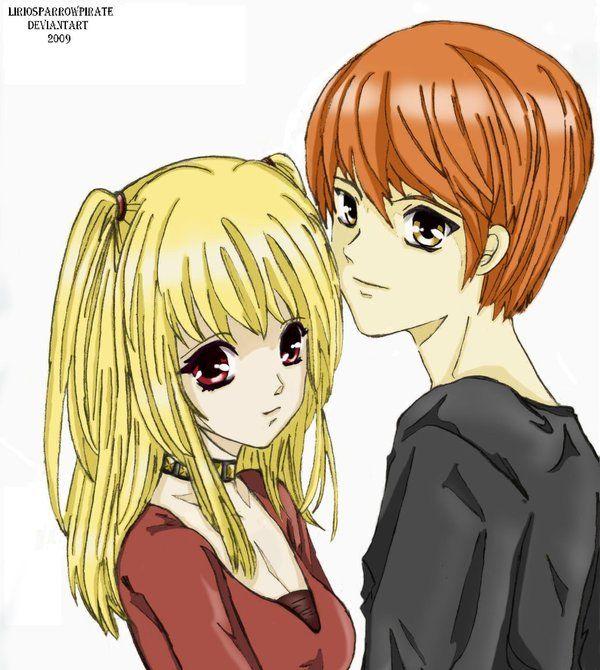 Misa And Light Otaku Anime And Manga Stuff Pinterest