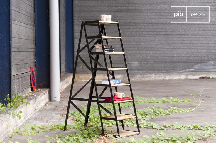 Heb je geen tuin, maar wel een balkon? Plaats dan deze ladder op je balkon en zet er leuke planten op.