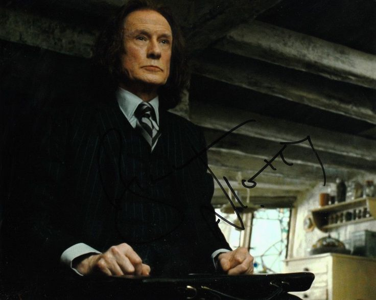 "Bill #nighy autograph #signed 10"" x 8""  #photo  (harry potter)    coa     55,  View more on the LINK: 	http://www.zeppy.io/product/gb/2/322295665223/"