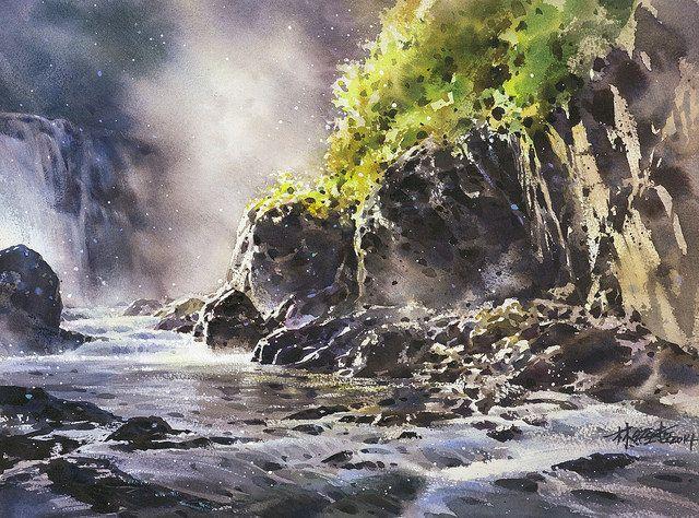 K Che Inspiration 林經哲 ching che watercolor paisajes