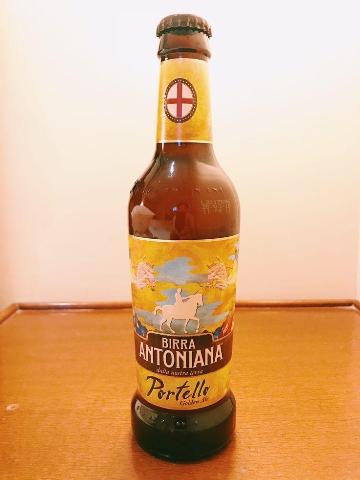 BIRRA ANTONIANA Portello: Golden Ale Belgian Ale Alc 5.2%