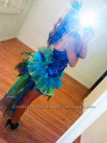 Modest Yet Sexy Homemade Peacock Costume
