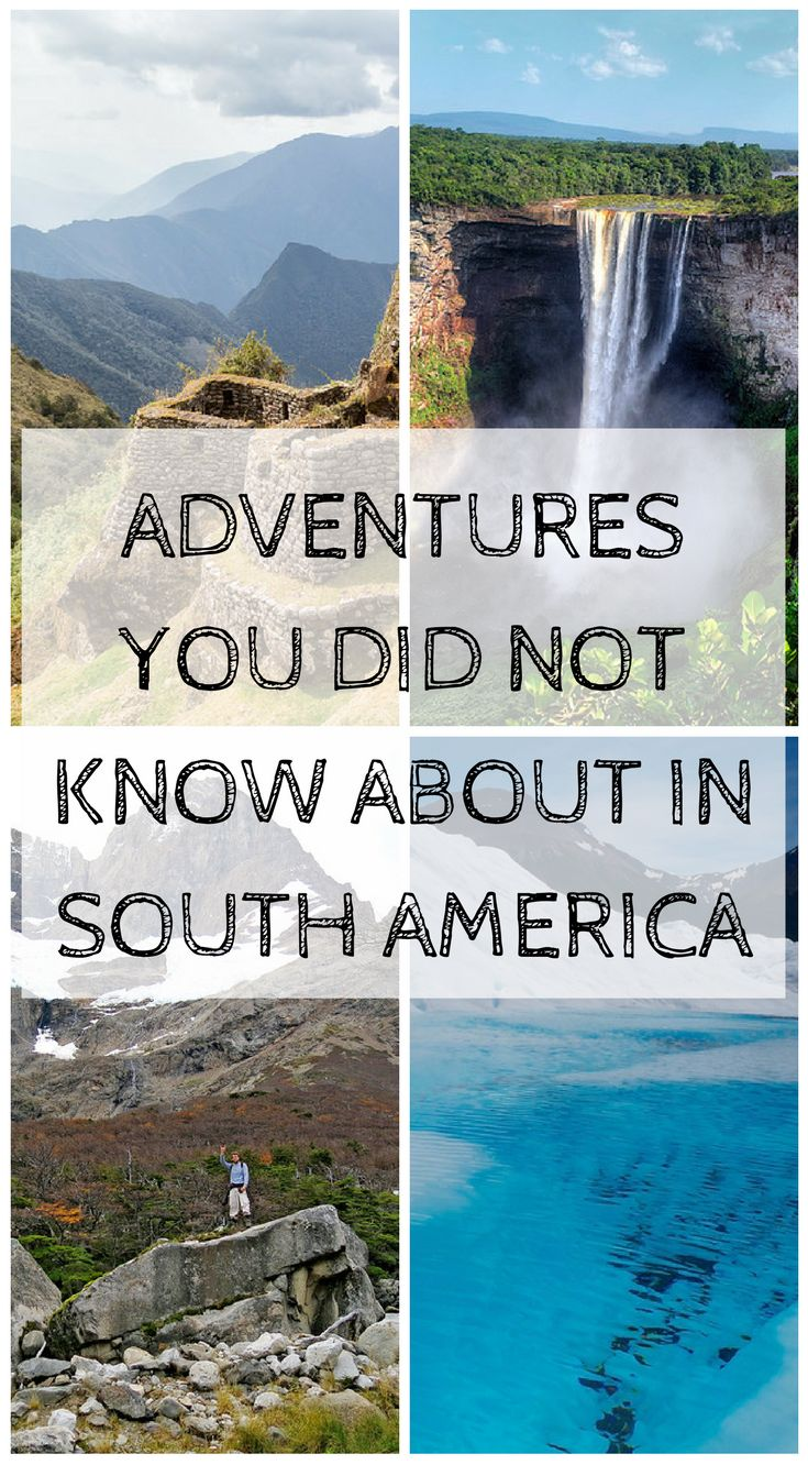 Adventures you did not know about in South America by the Divergent Travelers Adventure Travel Blog http://www.divergenttravelers.com/south-america-adventure-experiences/