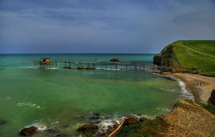 The colours of the summer's end: #Vasto - Punta #Aderci -  #AbruzzoRuralProperty