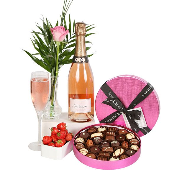 valentine's day wine gift sets