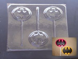 Batman Lollipop Mold Icup Dc Comicc Batman Molded Rubber