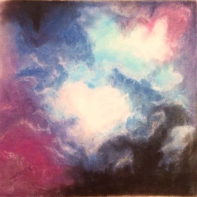 Surreal pastel clouds - Ashleigh Hunter