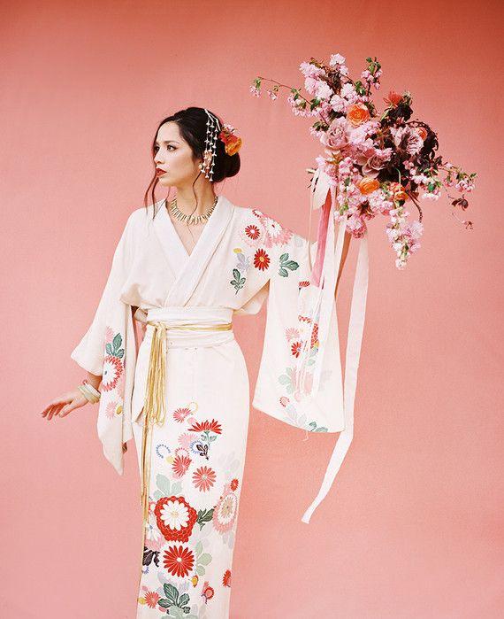 Modern Asian inspired spring wedding ideas